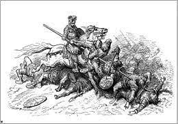 Orlando impazzisce, Gustave Doré