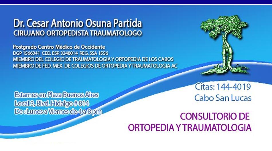 Dr Cesar Antonio Osuna Partida