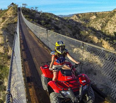 Wild Canyon ATV and Bridge Tour