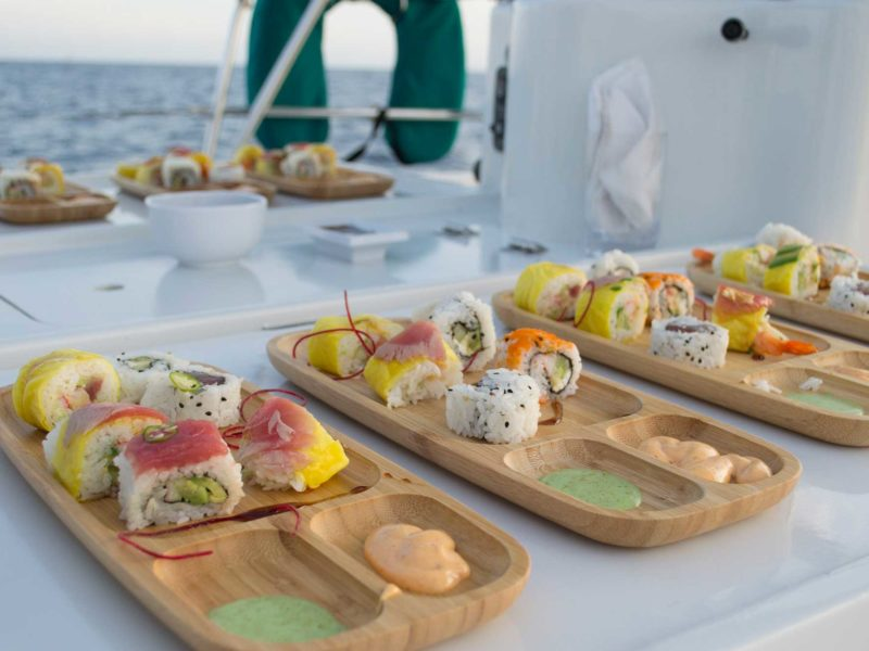 Cabo Deluxe Sailing web sushi