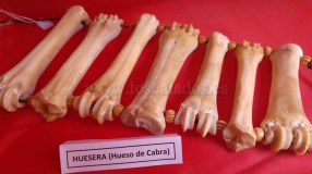 Huesera de huesos de cabra