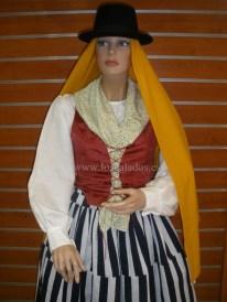 Mujer de Santa Cruz S.XIX