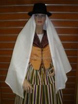 Mujer en Traje de Fiesta Tegueste 1ª mitad S. XIX