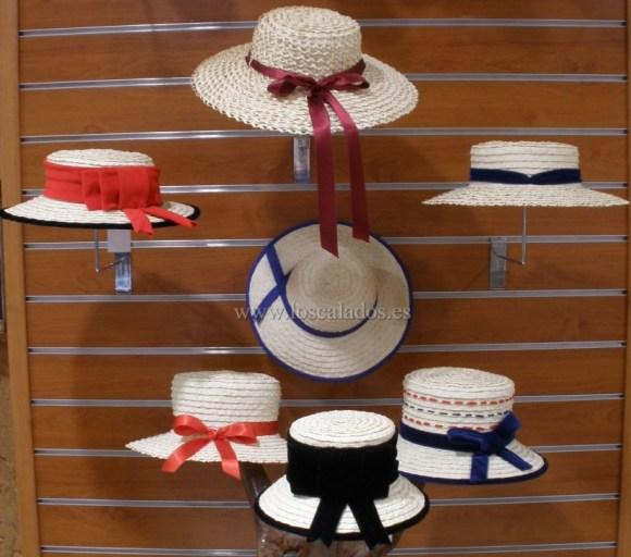 Sombreros varios de señora