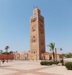 A mosque off the Jemaa el-Fnaa