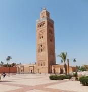 A mosque off the Jemaa el-Fnaa