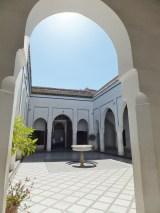 A courtyard in the Palais.
