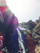 One of the Ourika waterfalls.