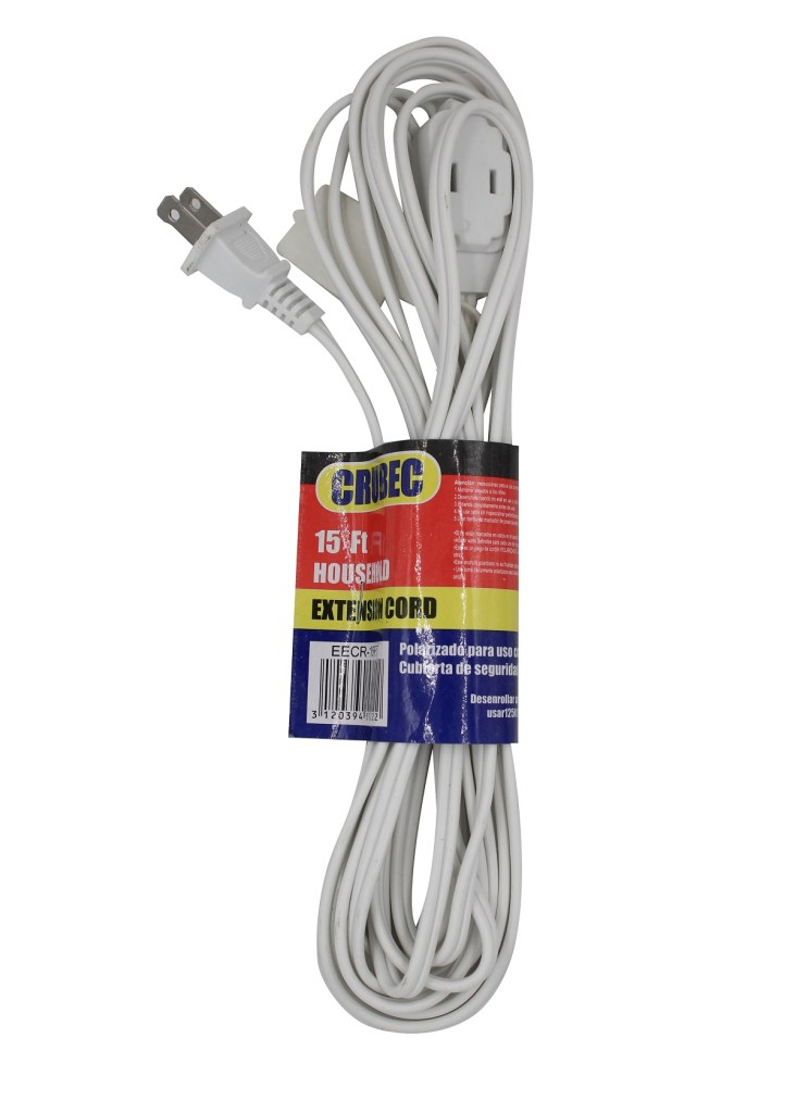 EXTENSION ELECTRICA 15FT