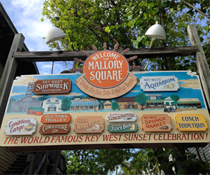 Atracciones en Key West -Mallory Square