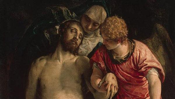 Original Paolo Veronese Pieta Found In Tashkent
