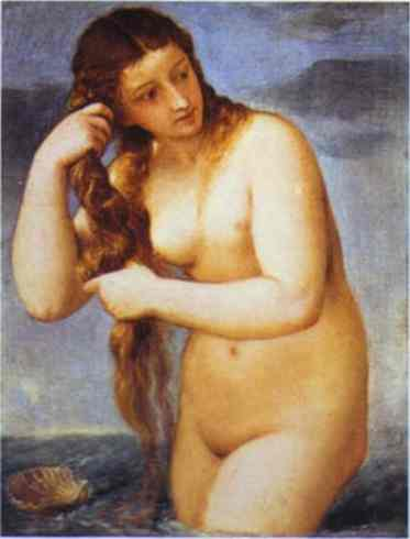 Venus Anadyomene by  Arthur Rimbaud
