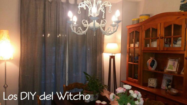 DIY…Cómo renovar las cortinas y la barra por pocos euros