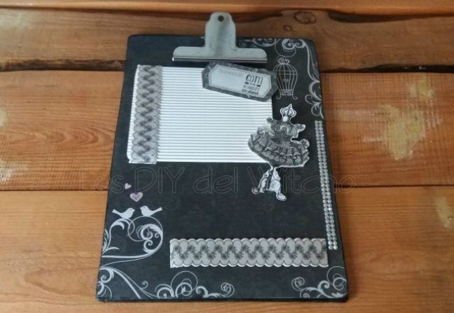 clipboard scrapbooking