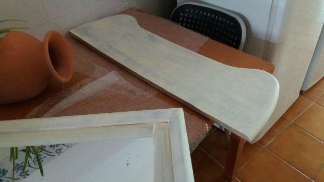 restauracion espejo y mesa