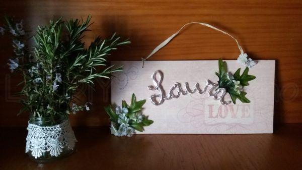 DIY… Cómo hacer un letrero con madera reciclada