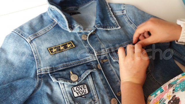 cómo decorar una chaqueta tejana