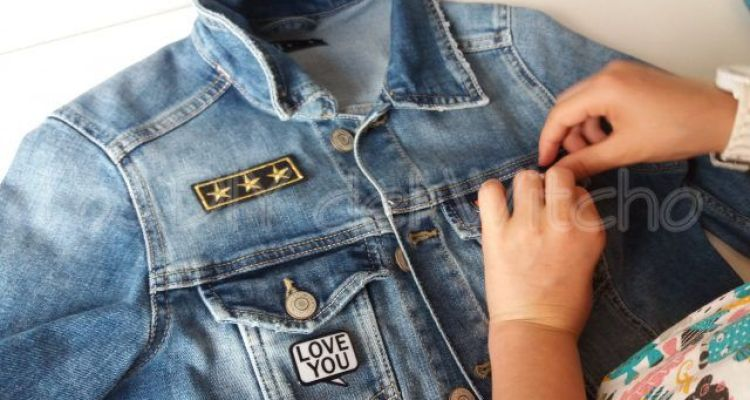 DIY… Cómo decorar una chaqueta tejana