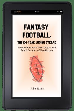 Fantasy Football The 24-Year Losing Streak Cover