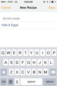 How to Create Recipe New Recipe