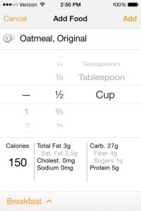 Log A Future Meal Oatmeal