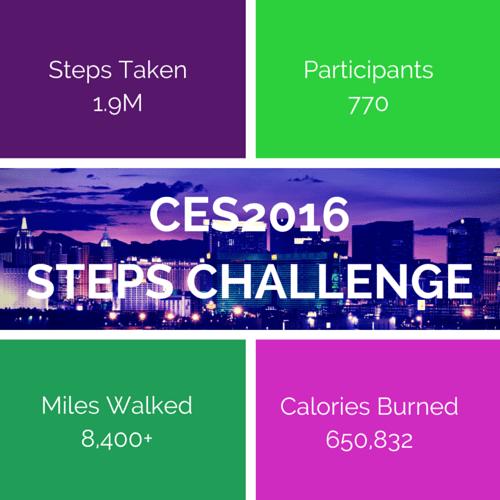 CES2016STEPS CHALLENGE