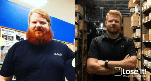 Lose It! app weight loss success story: Herbie