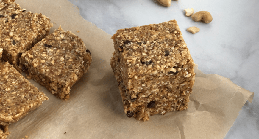 Stacked granola bars