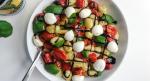 Plate of caprese cauliflower gnocchi