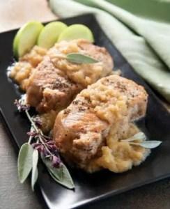 Instant Pot Cinnamon-Apple Pork Chops