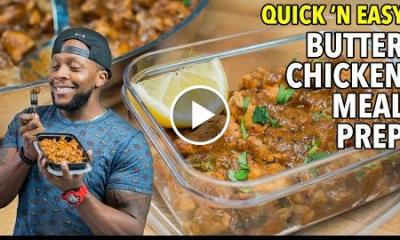 15-minute Butter Chicken Meal Prep