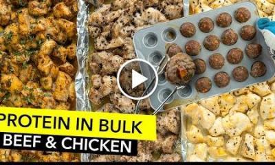 Cook Protein in Bulk