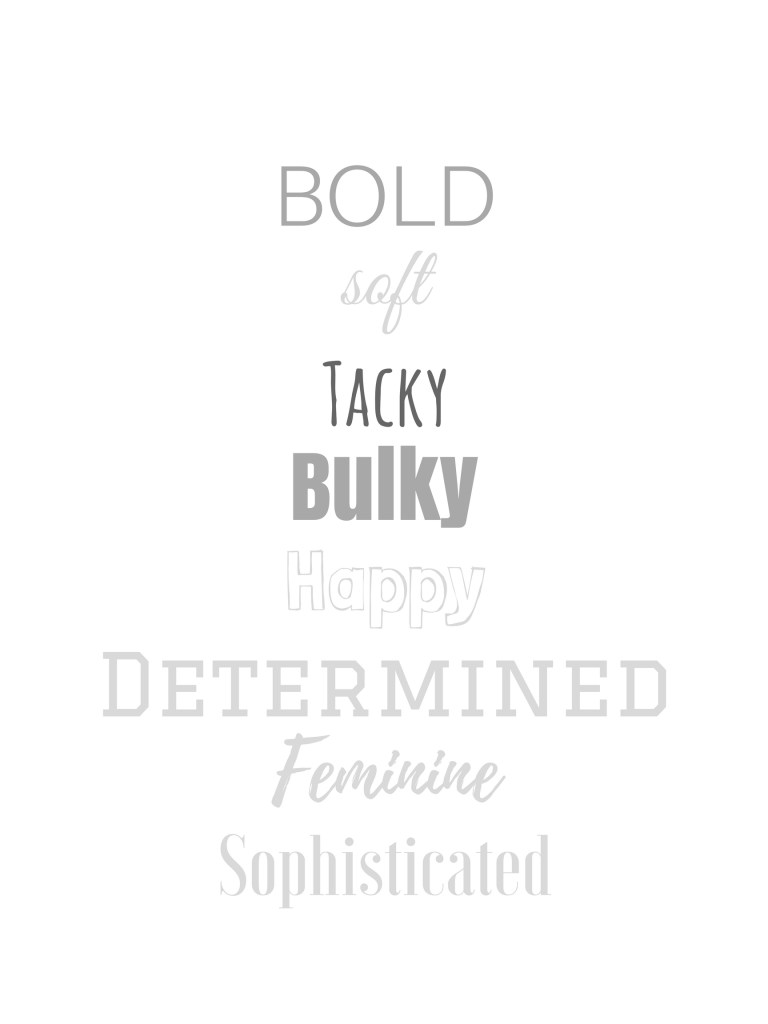 brand font guidelines