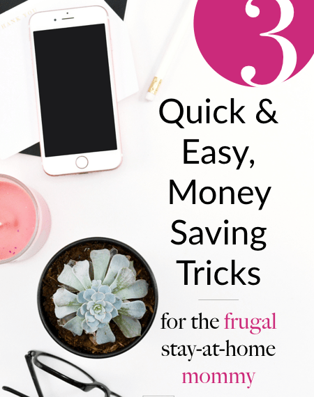 frugal stay at home mom tips