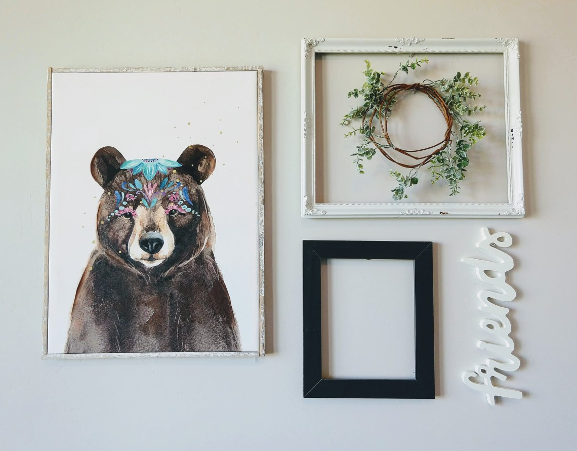 26 Quick Wall Decor Ideas for the Stumped Homemaker - This Lost Mama