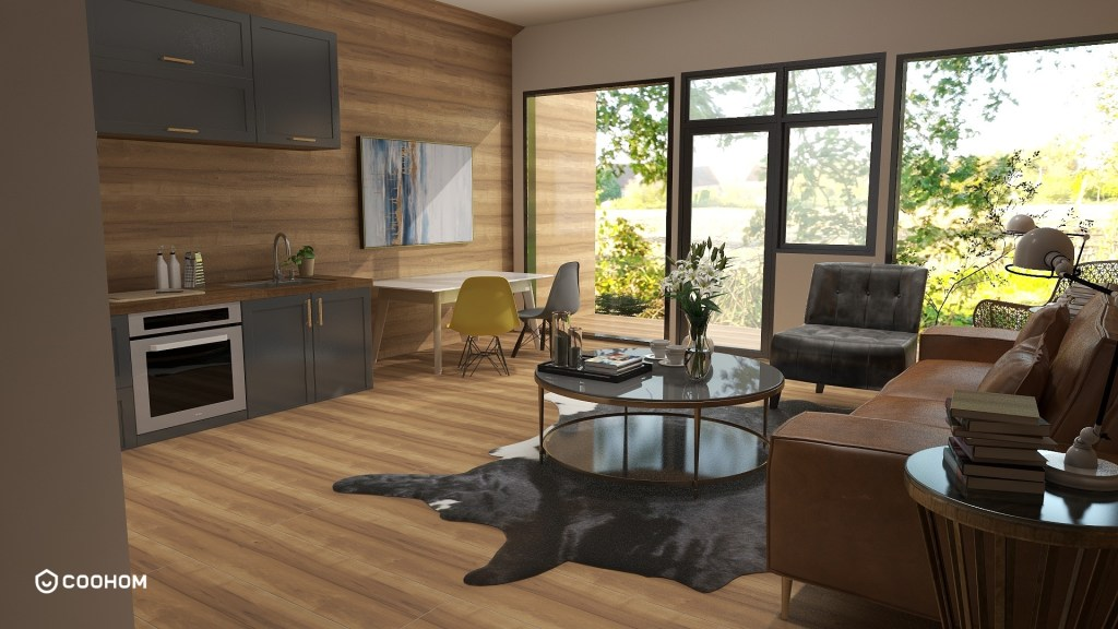 image of a luxurious cabin interior design
