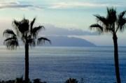 Los Gigantes, Tenerife. Looking over towards La Gomera and Puerto Santiago.