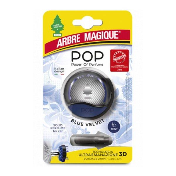 POP Power of Perfume blue velvet