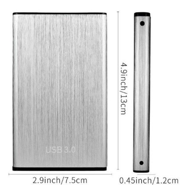 Camilla's Ideas HD4 Hard Disk Stato Solido USB 3.0 4TB Size