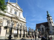Saint Peter and Pauls church and Saint Andrews church. Two of the most beautiful churches in the city.