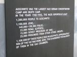 """Se calcula que en los campos de concentración de Auschwitz murieron 1.100.000 personas. En ese momento me volví especialmente sensible a insultos despectivos que escuché durante mi juventud como """"ese es un judío / polaco / gitano""""... Al pisar Auschwitz sentí cómo me volvía intolerante hacía este tipo de expresiones. La terrible historia que vivieron merece un respeto, y sobre todo que jamás vuelva a producirse."""
