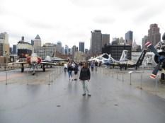 Mónica, aviones, helicópteros y New York!