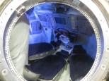 En esta microcápsula viajaban los astronautas. Ahí yo no quepo ni aunque me metan en el WinRar!