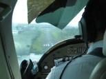 Visión directa durante el aterrizaje, que ilusión!