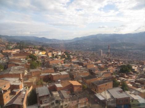 Medellín desde las alturas