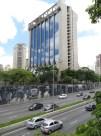 De camino al Parque Iburapuera, la famosa Avenida Paulista, con el imponente edificio IBM a sus espaldas.