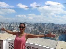 Vistas de 360º a la ciudad de Sao Paulo y... de gratis! Que es lo suyo :D