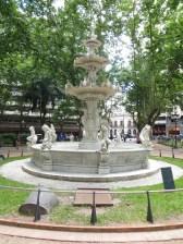 También nombrada Plaza Constitución donde se juró la misma el 18 de Julio de 1830