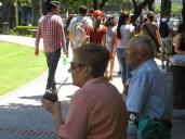 Dicen que quien ha visto a una pareja de personas mayores tomando mate en una plaza, ha visto toda Argentina ;) Aquí va la prueba!