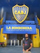 Que alegría poder haber estado en un estadio tan mítico como La Bombonera! A la próxima, partido incluido :D